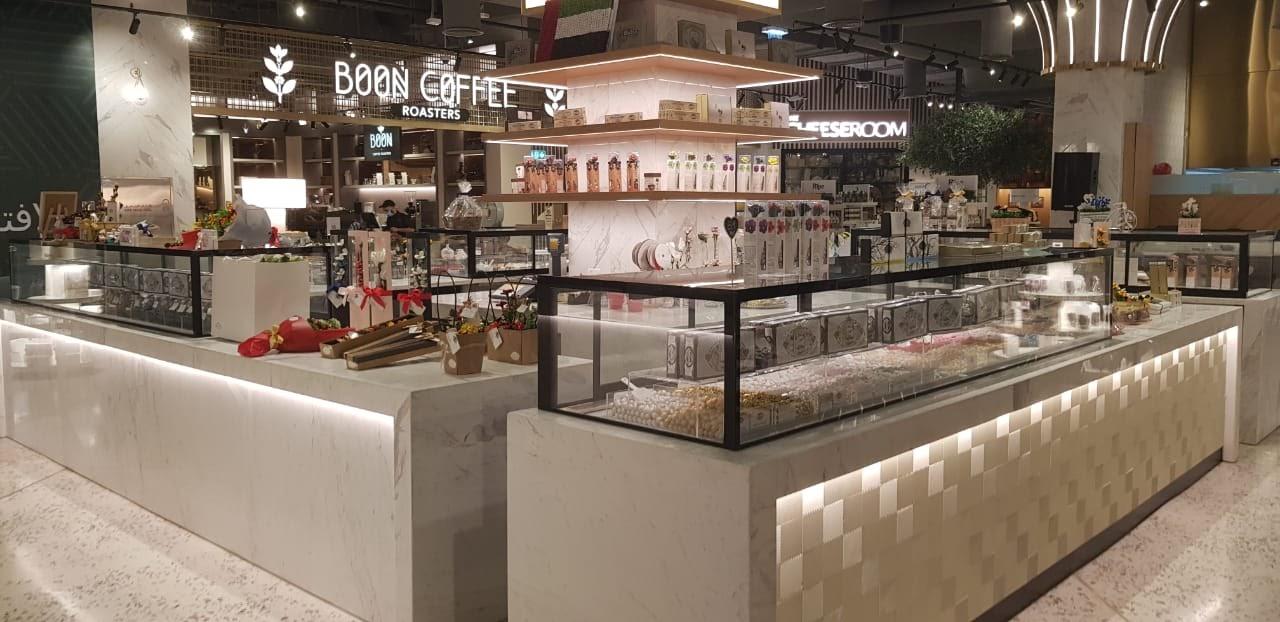 Nakheel Mall food Booths